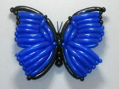 Blue Butterfly Twist Balloon