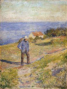 Summer in Asgardstrand by Edvard Munch