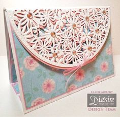 #Card created using Die'sire Create-a-Card decorative dies from #crafterscompanion.