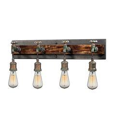 ELK Lighting Jonas 4 Light Wall Bracket in Multi-Tone Weathered 14283/4 #elk #elklighting #lightingnewyork #lighting