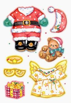 Holly_Christmas_Bear_3.jpg (440×640)