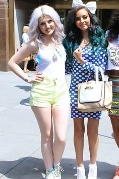 Perrie and Jade from Little Mix