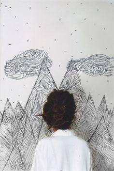 Artist at work Kandinsky, Creation Art, My Sun And Stars, Art Plastique, Looks Cool, Oeuvre D'art, Graphic, Artist At Work, Portrait