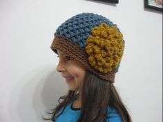 Meladoras Creations   Butterfly Stitch Beanie – Free Crochet Pattern