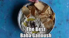 This is the best Baba Ganoush recipe ever! A delicious Middle Eastern eggplant dip that's so easy to make and is perfect to serve as an appetizer. Authentic Mexican Recipes, Slow Cooking, Cooking Recipes, Lebanese Recipes, Indian Food Recipes, Best Baba Ganoush Recipe, Lebanese Baba Ganoush Recipe, Middle Eastern Recipes, Middle Eastern Vegetarian Recipes