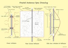 How to make a homemade tv antenna explained with pictures fractal antenna spec drawingg 18061279 pixels pronofoot35fo Choice Image