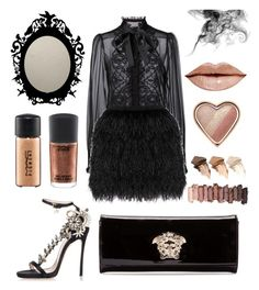 """""""Friday after work"""" by ai0807 on Polyvore featuring ファッション, Dolce&Gabbana, Raoul, Dsquared2, Versace, MAC Cosmetics, Too Faced Cosmetics, Urban Decay, women's clothing と women"""