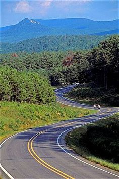 One of the most scenic drives in the nation, Scenic 7 runs from the Louisiana border to Bull Shoals lake near the Missouri state line Places To Travel, Places To See, Rv Travel, Arkansas Vacations, Family Vacations, Eureka Springs, On The Road Again, Vacation Spots, Beautiful Places