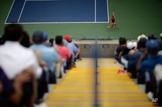 Simona Halep, of Romania, returns a shot to Victoria Azarenka, of Belarus, during a quarterfinal match at the U.S. Open tennis tournament, Wednesday, Sept. 9, 2015, in New York. (AP Photo/David Goldman)