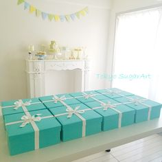 Sugar Art Tiffany Box