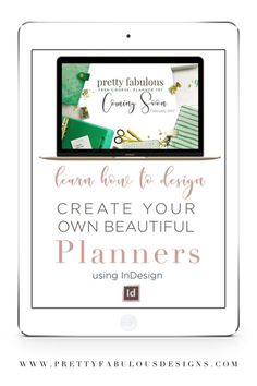 Do you want to build your own Etsy Planner Business? In this how to guide you will learn how to design planners that you can create from scratch. Planner Template, Printable Planner, Free Printables, Academic Planner, Starting Your Own Business, Day Planners, Adobe Indesign, Deck Of Cards, Getting Organized