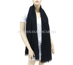 Cashmere Touch Shawl 0985-6 Black