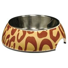 Catit Style Bowl, Leopard - X-Small ** Continue to the product at the image link. (This is an affiliate link) Bowl Diner, Kitten Food, Dog Feeding, Pet Bowls, Pet Grooming, Animal Design, Cats And Kittens, Pet Supplies, Decorative Bowls