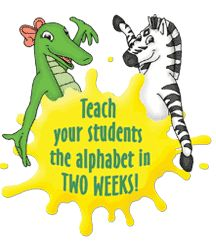 Zoo-phonics. Is currently what the school system we are doing practicums in are using for their preschool/kindergarten learners.