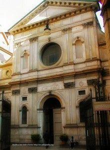 """Milano - Chiesa di Santa Maria presso San Satiro """"L'illusione è perfetta. Se di inganno si tratta la soluzione adottata da Bramante è un inganno piacevole e al tempo stesso stupefacente"""""""