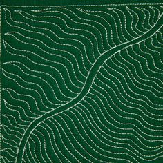 The Free Motion Quilting Project: Day 8 - Fern & Stem