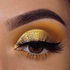 uh huh honey colourpop looks / uh huh honey colourpop looks + uh huh honey colourpop looks step by step + colourpop eyeshadow looks uh huh honey + colourpop uh huh honey palette looks Yellow Eye Makeup, Yellow Eyeshadow, Colorful Eye Makeup, Eyeshadow Looks, Eyeshadow Makeup, Eyeshadow Palette, Makeup Palette, Eye Makeup Designs, Eye Makeup Art
