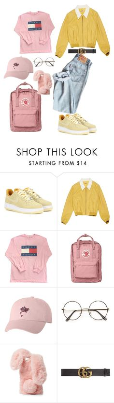"""457%"" by deliriousxdoc ❤ liked on Polyvore featuring NIKE, Miu Miu, Ashlyn'd and Gucci"