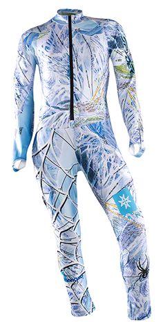 Spyder Womens Performance GS Race Suit: Coast/Julia Mancuso: Item 2233 @ ARTECHSKI.com: