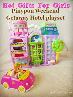 Pinypon Weekend Getaway HOTEL makes great gifts for girls #giftsforgirls #toys #Pinypon