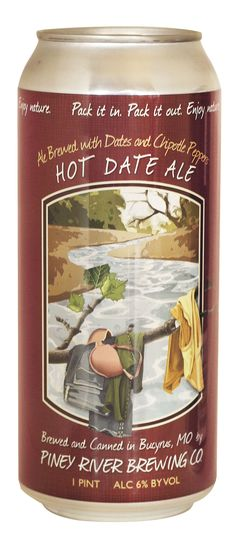 Piney River Brewing, Montana, Hot Date Ale; brewed with dates and peppers