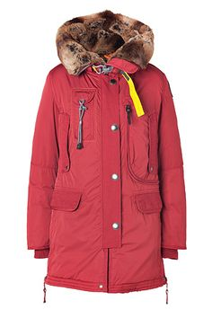 spacer  You might also like  item  PARAJUMPERS  	item  PARAJUMPERS  	item  FAITH CONNEXION  	 	  PARAJUMPERS  Red Kodiak Eco Down Parka