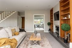 A Contemporary Classic Walk In Robe, Island Bench, Contemporary Classic, Gas Fires, Creature Comforts, Towel Rail, Outdoor Settings, Double Bedroom, Property Listing