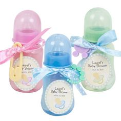 Baby Shower Idea: Baby Bottle Shower Favors at Deals