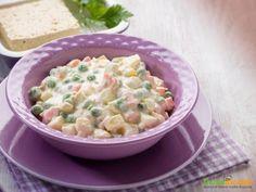 Insalata russa di tofu, elisir di lunga vita  #ricette #food #recipes