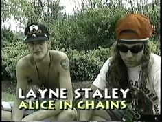Layne & Mike Alice in Chains Mike Starr, Jerry Cantrell, Mad Season, Layne Staley, Alternative Metal, Alice In Chains, Progressive Rock, Jimi Hendrix, Most Beautiful Man