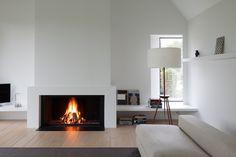 Metalfire Universal houtgestookte haard in schouw - Product in beeld - - Startpagina voor sfeerverwarmnings ideeën | UW-haard.nl