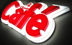 cool fabricated signage - Google Search