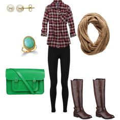 """""""For the Love of Plaid"""" by nutmeg-326 on Polyvore"""