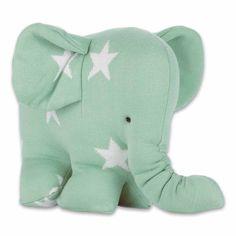 Baby's only olifant knuffel ster in 6 kleuren | Villa Vrolijk