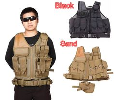 SWAT Airsoft CS Paintball Tactical Hunting Combat Assault Vest Outdoor Training Mesh Waistcoat Safety Clothing Hunting Equipment
