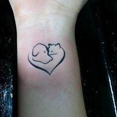 Resultado de imagem para tatuagens de cachorro