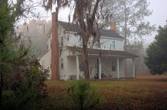 Murray Farmhouse Cracker I House Architecture Vernacular Possibly Antebellum Long County GA Picture Image Photo Brian Brown Vanishing South Georgia USA 2012