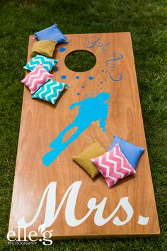 Mrs., Wedding Games, Personalized, La Jolla, San Diego, Scripps Seaside Forum,