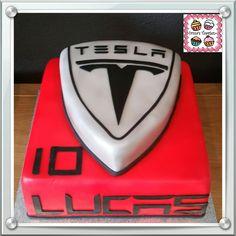 Tesla Cake My Cakes In 2019 Cake Cars Birthday