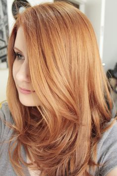 53 Strawberry Blonde Hair At Its Best - New Hair Styles 2018 Ginger Hair Color, Red Hair Color, Blonde Color, Ginger Hair Dyed, Ginger Ombre, Ginger Blonde Hair, Magenta Hair Colors, Color 2, Strawberry Blonde Hair Color