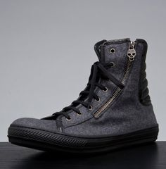 Alexander McQueen High Top Sneakers-05