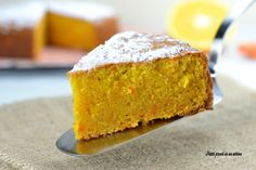 Torta con carote ed arancia