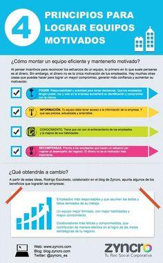 4 principios para lograr equipos motivados #infografia #rrhh #pymes | Empresa 3.0 | Scoop.it