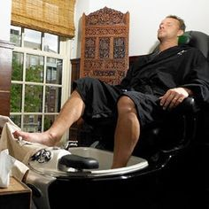 Medical Pedicure For Men Yes he's in the zone! Happy Holidays from Z LaRue