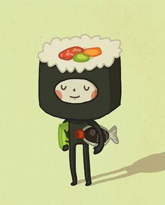 Sushi boy - Anneka Tran