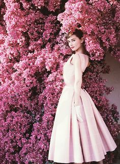 Audrey Hepburn by Norman Parkinson, 1955
