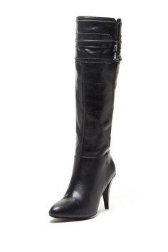 Adrienne Vittadini Shauna Tall High Heel Boot