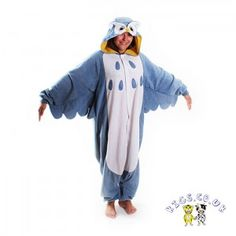 Adult owl onsie / costumes  pinner says Now its adults time to shine!!   I say or look like your on a day pass from your local mental institution