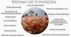 Zacznijmy od tego, że nie mamy tu na myśli soli kuchennej, która składa się z chlorku sodu tylko sól naturalną nieprzetworzoną np. himalajską, która zawiera aż 84 substancje mineralne, elektrolity …