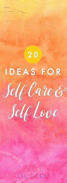When it comes down to it, self care and self love aren& selfish - they& actually an essential part of living a happy and healthy life. Here are over 20 ideas for self care and self love that will help you improve your relationship with yourself. Self Love Affirmations, Self Care Activities, Care Quotes, Smile Quotes, Quotes Quotes, Self Motivation, Love Tips, Self Development, Personal Development